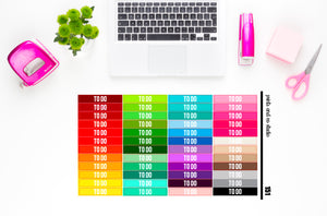 to do headers planner stickers (S151)