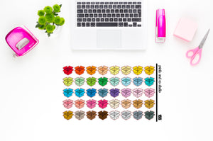 boxes planner stickers (S155)