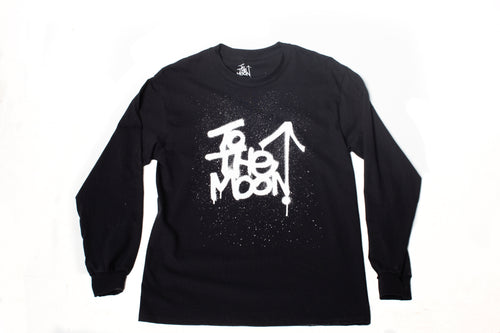 Spray paint logo long sleeve T