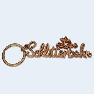 Rose Gold Schlitterbahn Key Chain