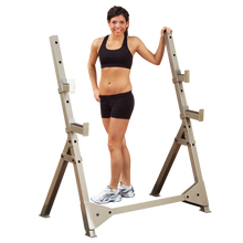 Best Fitness Olympic Press Stand -Safety While Lifting