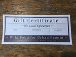 Private Lounge Party Gift Certificate