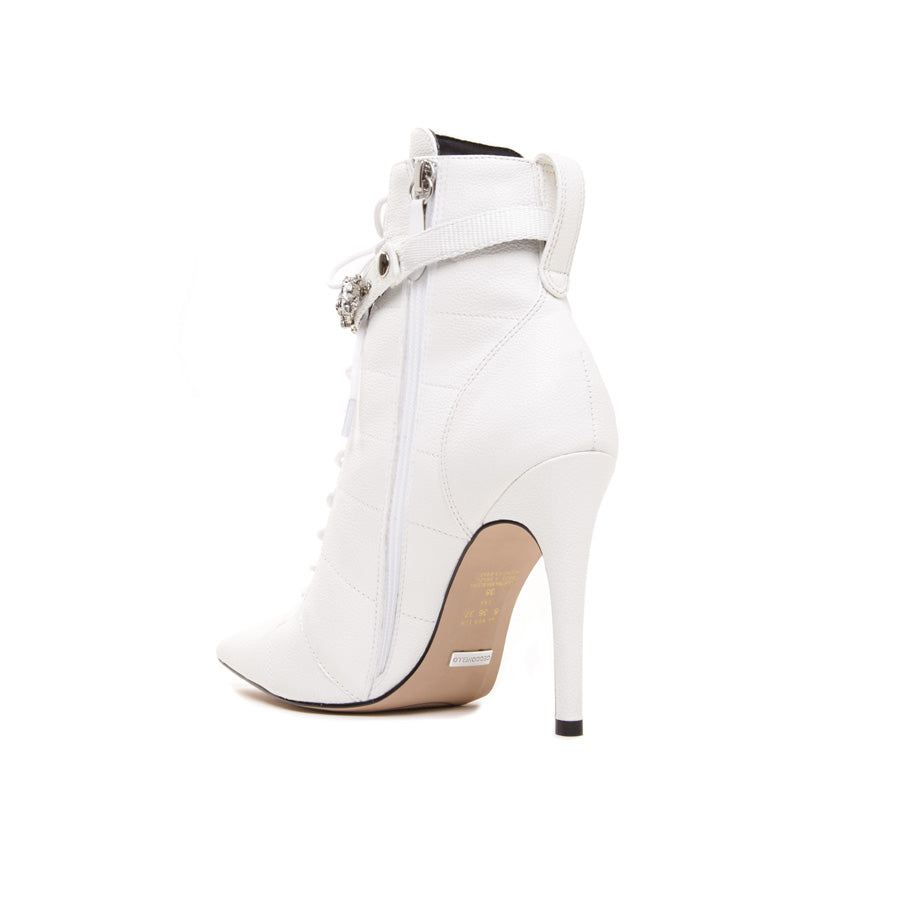 Cecconello White Boot 1500004-1 - [product_category] Cecconello Shoes
