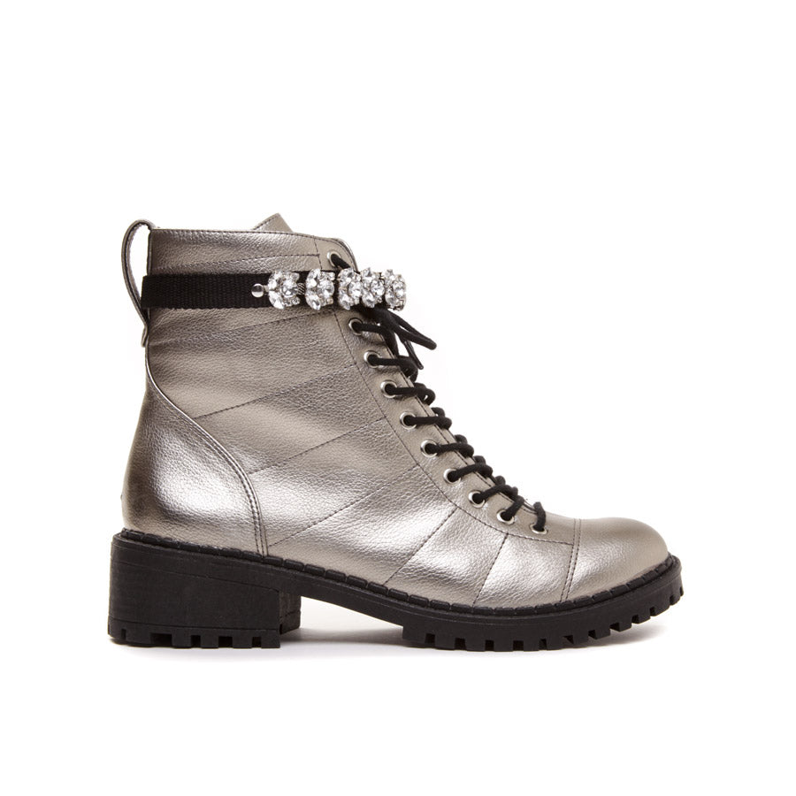 Cecconello Old Silver Coturno 1501001-1 - [product_category] Cecconello Shoes