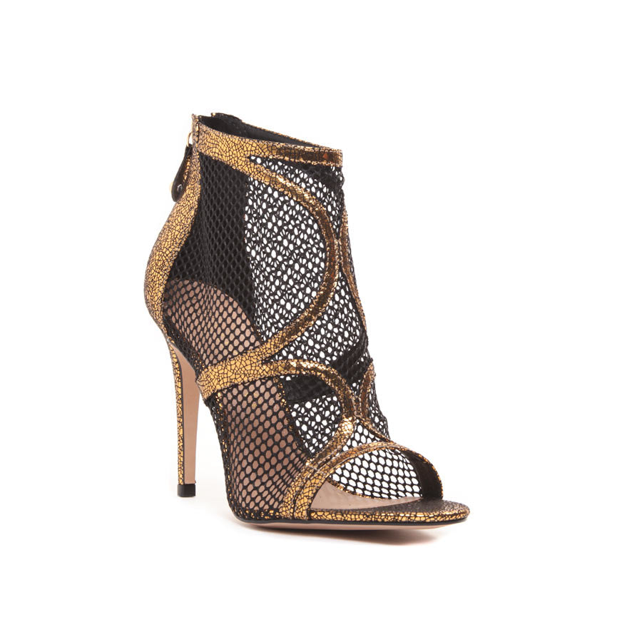 Cecconello Metallic Gold Sandal 1506001-1 - [product_category] Cecconello Shoes