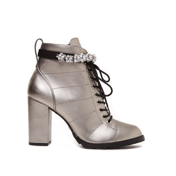 Cecconello Old Silver Coturno 1508001-3 - [product_category] Cecconello Shoes