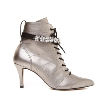 Cecconello Old Silver Boot 1512002-2 - [product_category] Cecconello Shoes