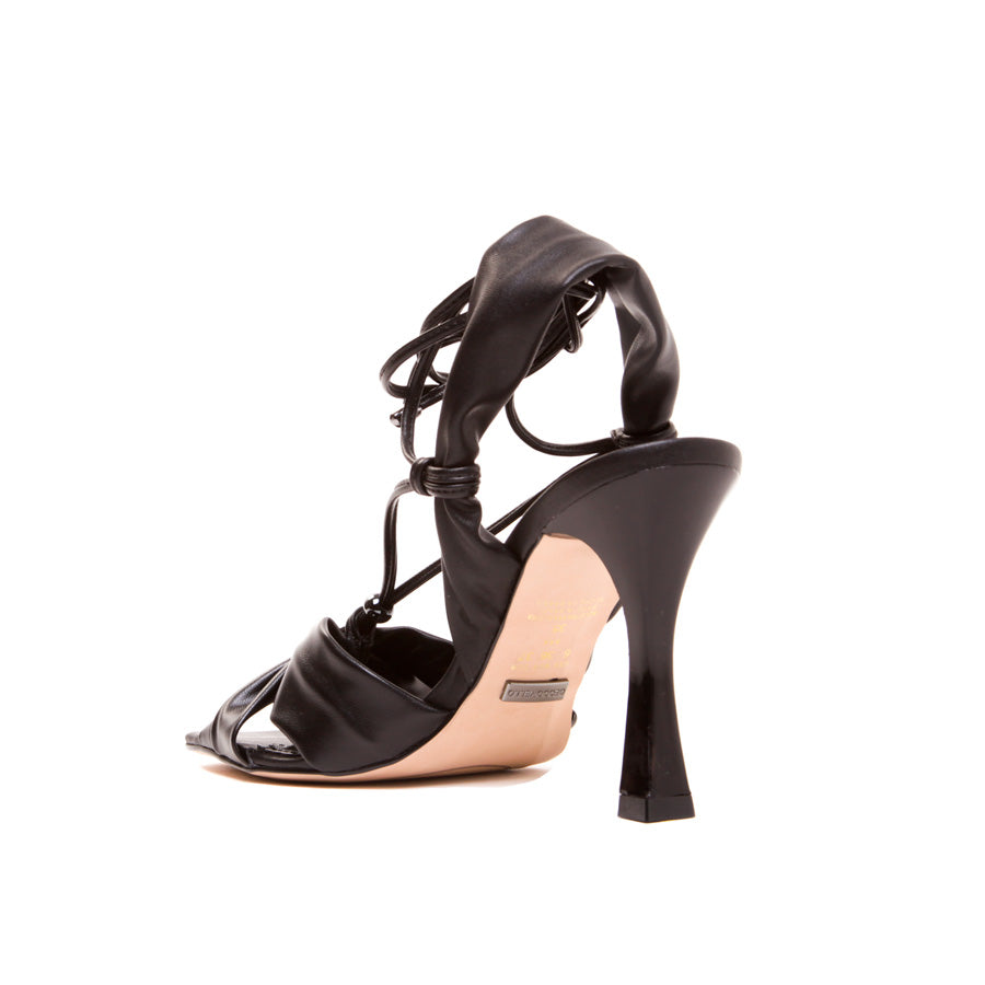 The Urban Gal Black Sandal 1524007-4 - [product_category] Cecconello Shoes