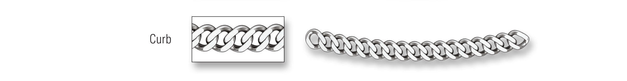 Chains - Curb Link Style Chain Image