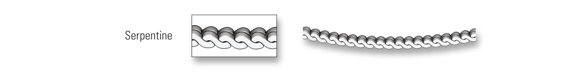 Chains - Serpentine Link Chain Image