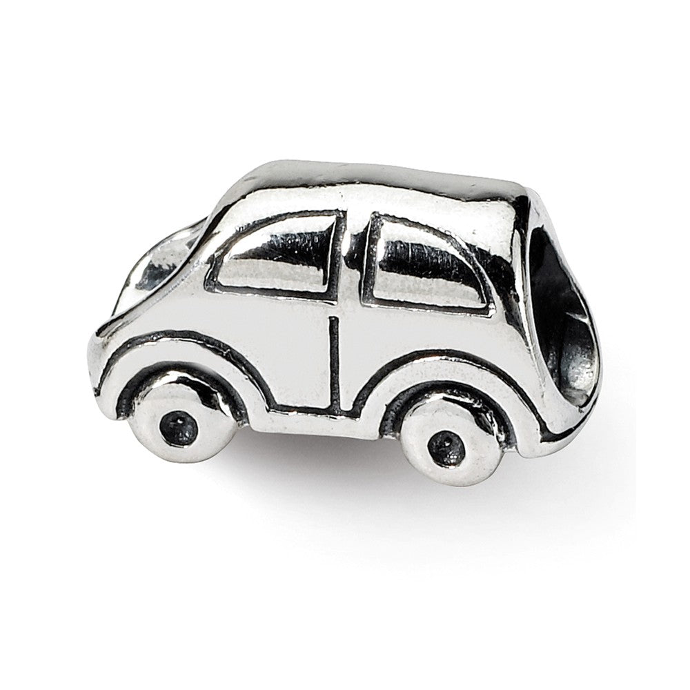 Sterling Silver Family Car Bead Charm, Item B9333 by The Black Bow Jewelry Co.