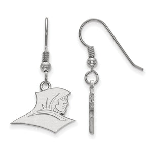 NCAA Sterling Silver Providence College Small Dangle Earrings - The Black Bow Jewelry Co.
