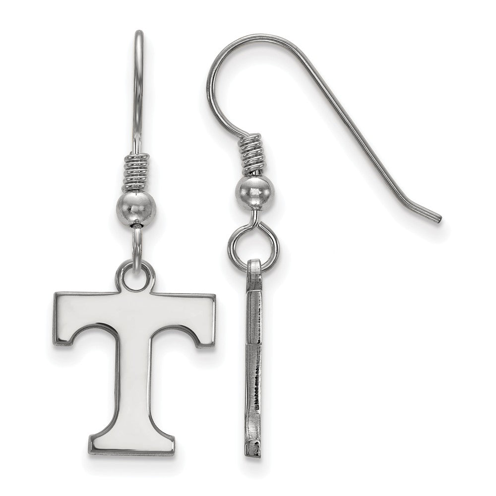 NCAA Sterling Silver University of Tennessee Small Dangle Earrings, Item E14156 by The Black Bow Jewelry Co.