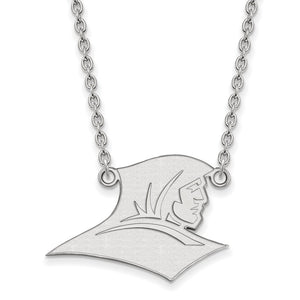 NCAA Sterling Silver Providence College Large Pendant Necklace - The Black Bow Jewelry Co.