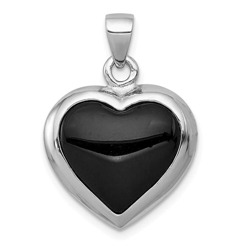 The Black Bow Sterling Silver Duquesne U Small Pendant Necklace