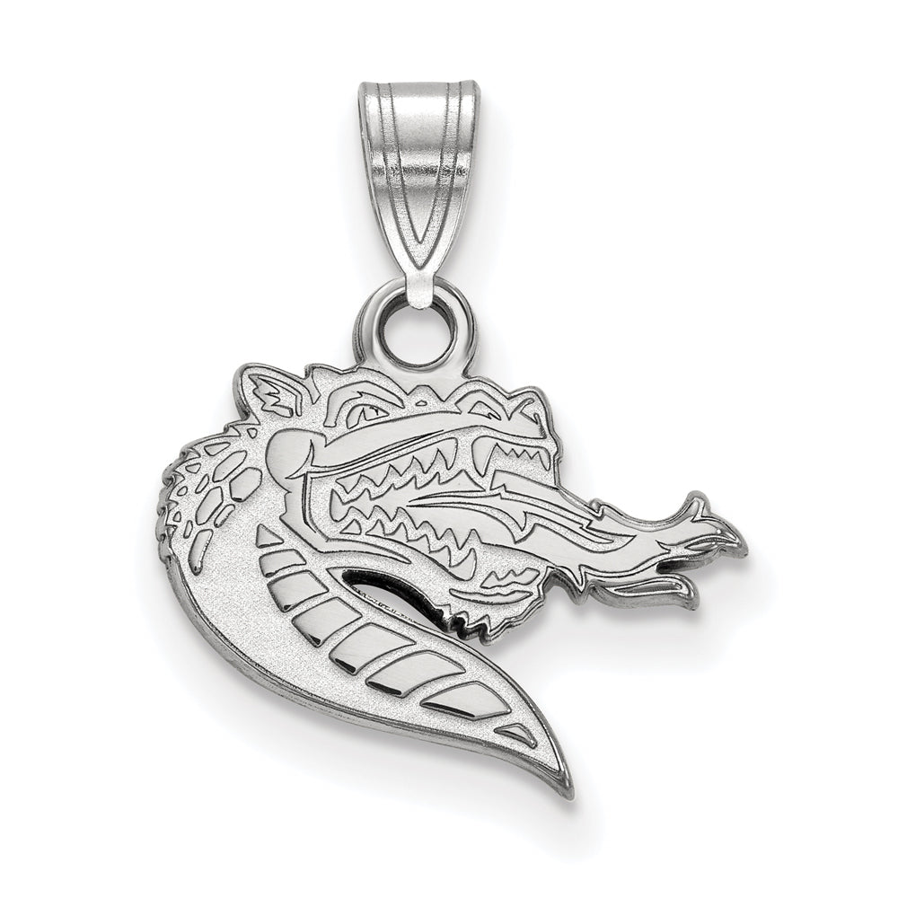 NCAA 14k White Gold U. of Alabama at Birmingham Small Pendant, Item P20307 by The Black Bow Jewelry Co.