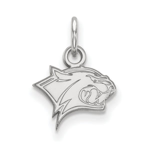 NCAA 14k White Gold U. of New Hampshire XS Pendant - The Black Bow Jewelry Co.