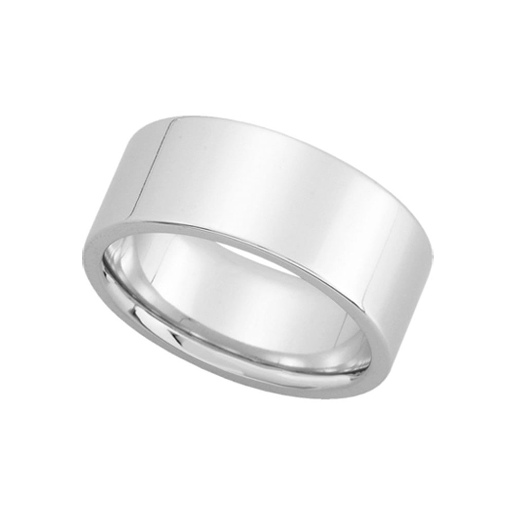8mm Flat Fort Fit Wedding Band In Sterling Silver The Black Bow Jewelry Co: 12mm Silver Flat Wedding Band At Reisefeber.org