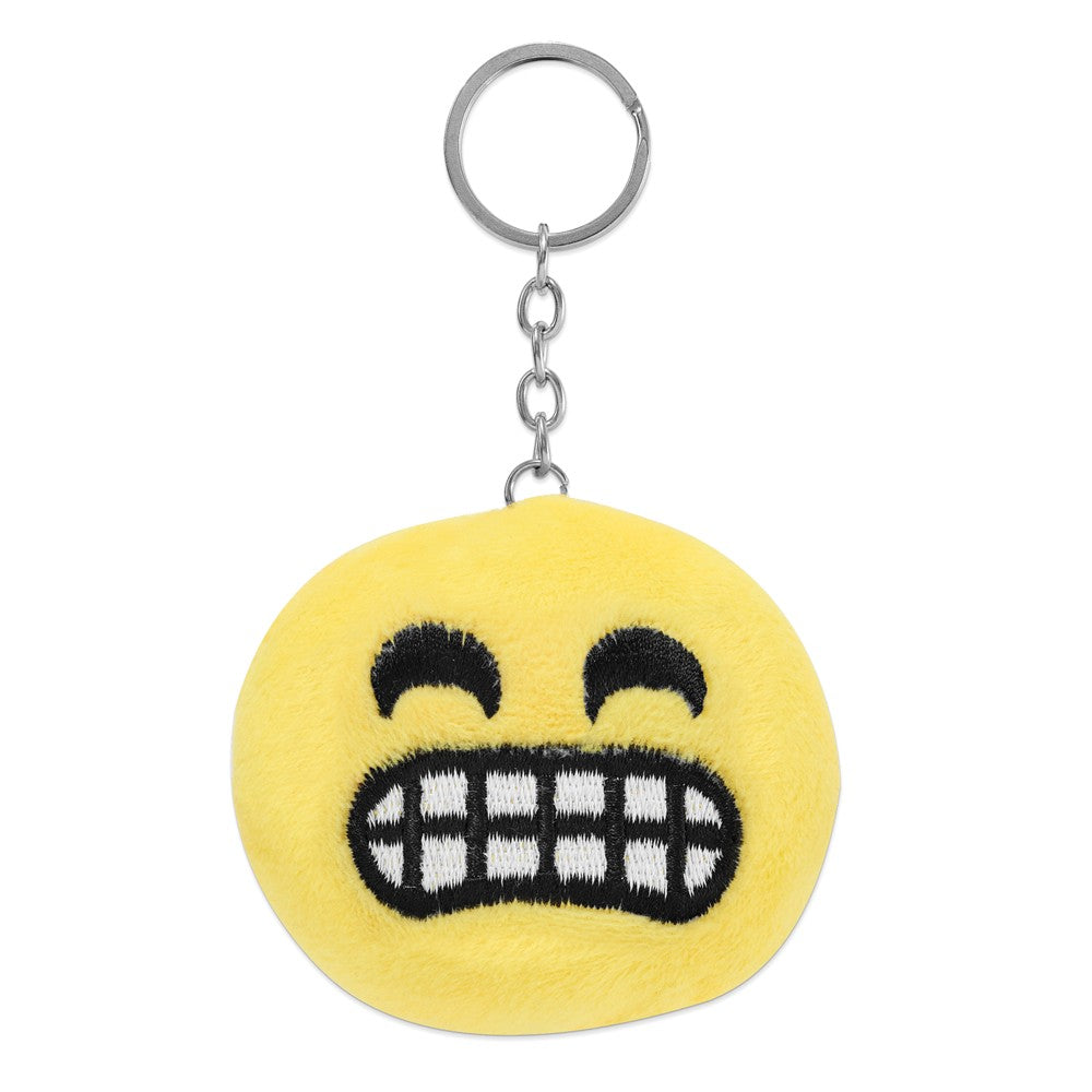 Alternate view of the Colori Ladies Happy Smile Chilly 30mm White Key Ring/Watch Set by The Black Bow Jewelry Co.