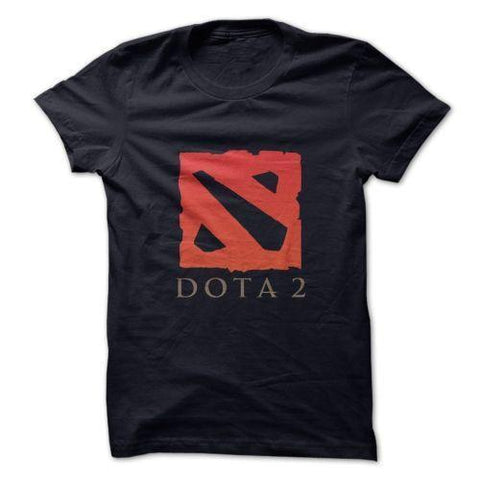 Dota Logo T shirt Black