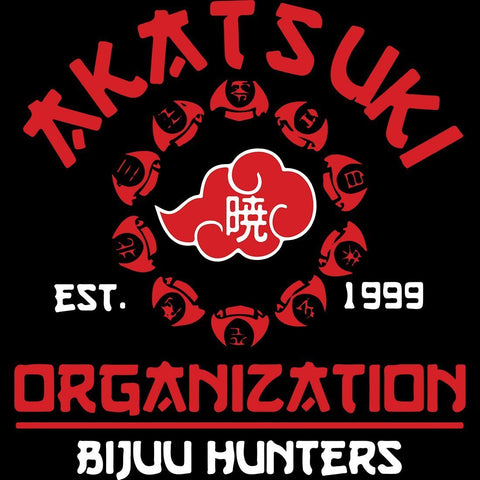 Akatsuki Organisation full sleeve