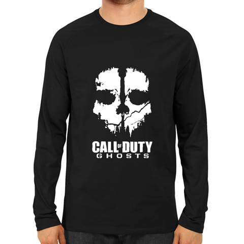 Call Of Duty Ghosts -Full Sleeve Black