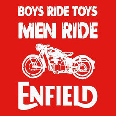 Boys Ride Toys Men Ride -Hoodie Red