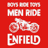 Image of Boys Ride Toys Men Ride -Half Sleeve Red