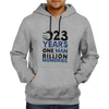 Image of CRIC 02- 23 Years One Man -Hoodie-Grey