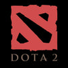 Image of Dota Logo T shirt Black