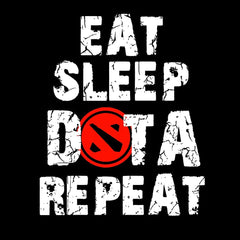 EAT SLEEP DOTA REPEAT  full sleeve