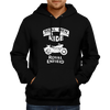 Image of Real Men Ride -Hoodie Black