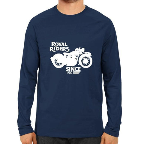 Royal Riders -Full Sleeve Blue