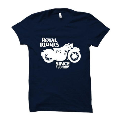 Royal Riders -Half Sleeve Blue