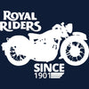 Image of Royal Riders -Half Sleeve Blue