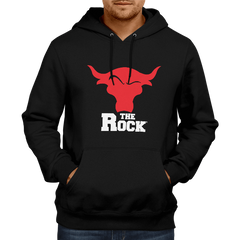 The Rock-Hoodie Black