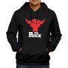 Image of The Rock-Hoodie Black