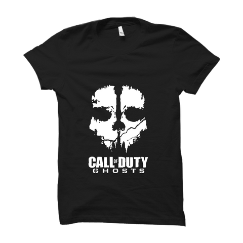 Call Of Duty Ghosts - Half Sleeve Black