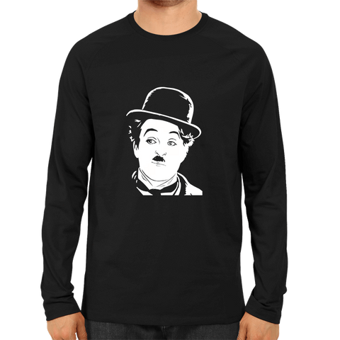 Charlie Chaplin -Full Sleeve Black