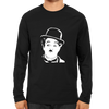 Image of Charlie Chaplin -Full Sleeve Black