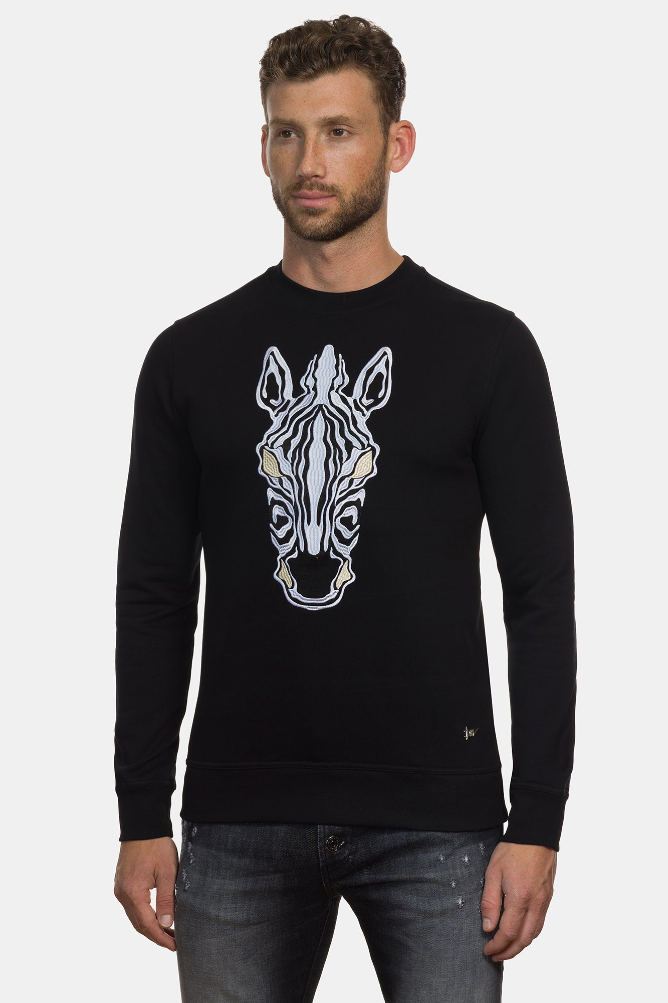 Equus Burchelli Zebra Sweater - DIMORAL OFFICIAL