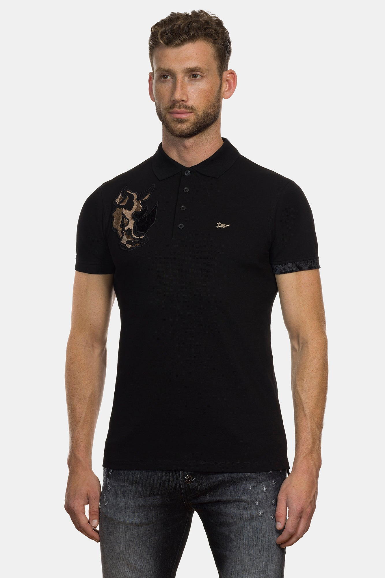 Black Rhinoceros Polo - DIMORAL OFFICIAL