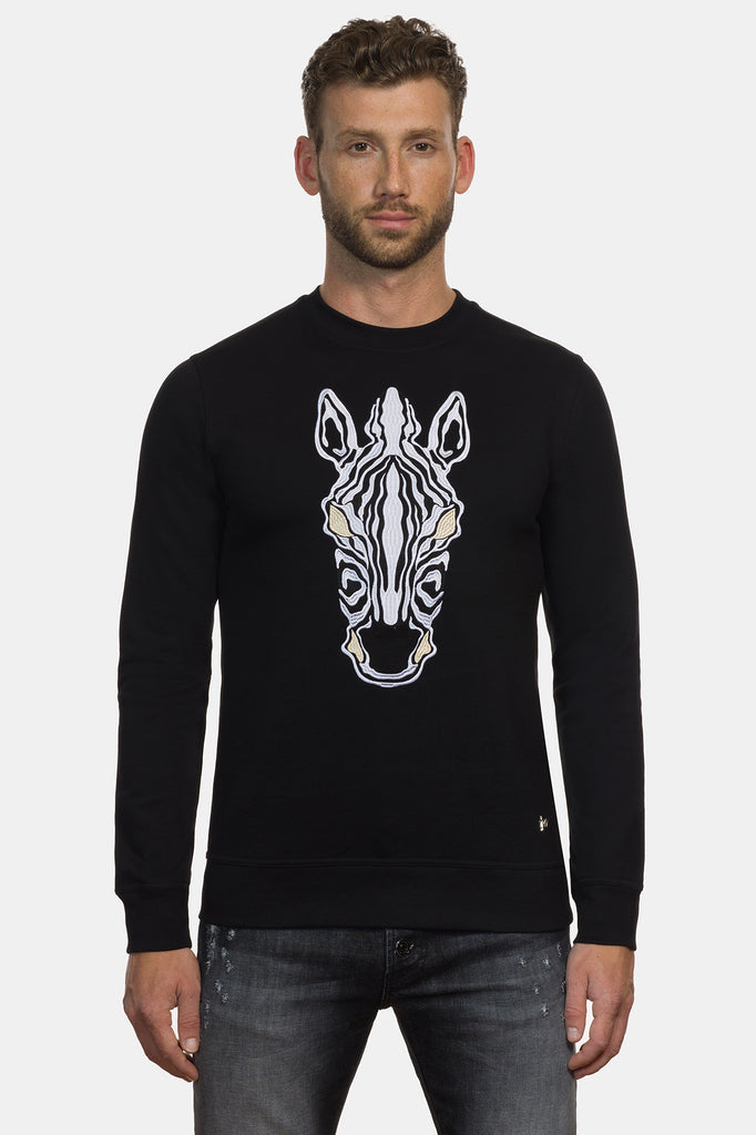 Equus Burchelli Zebra Sweater
