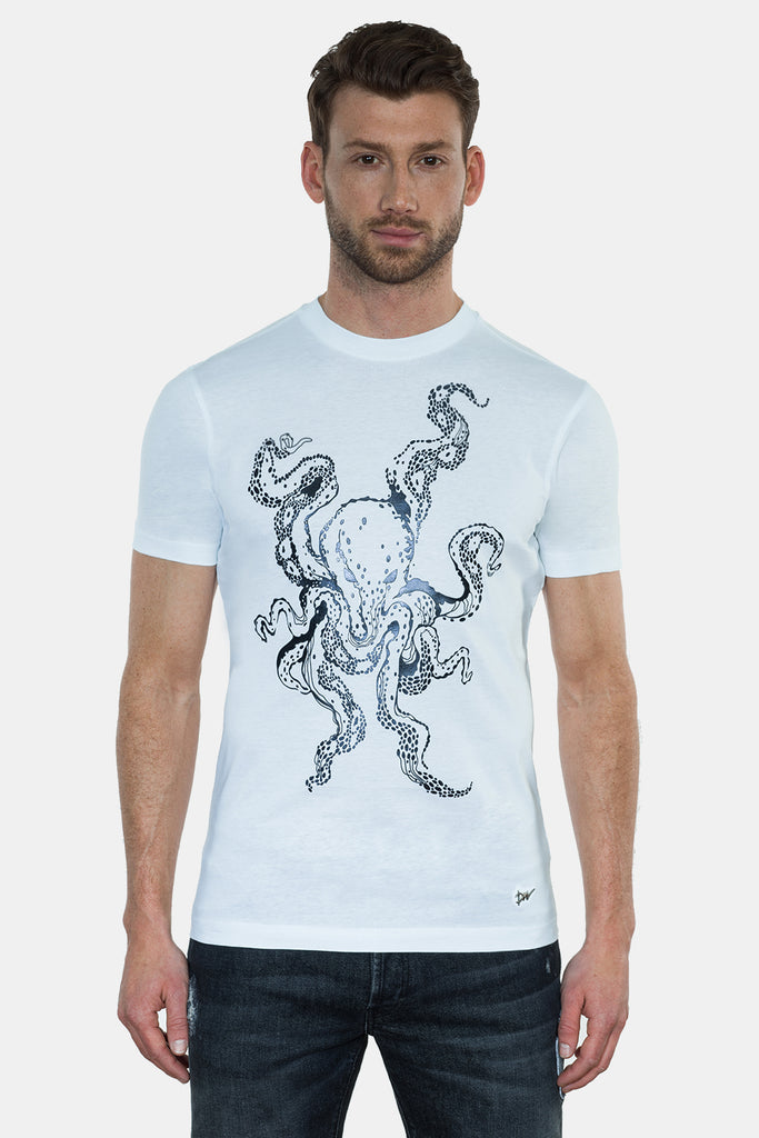 OCTOPUS 3D PRINTED T-SHIRT