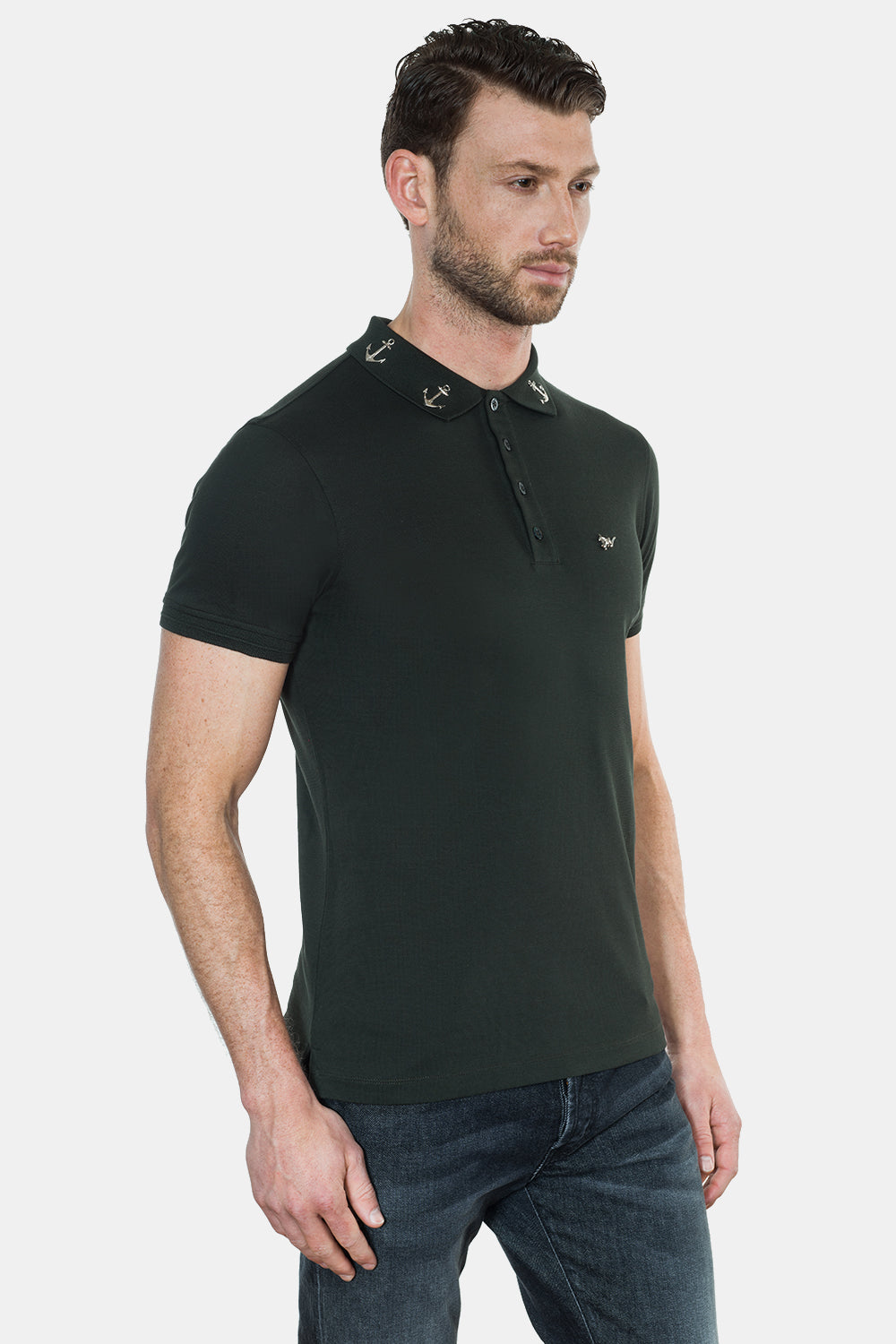 ANCHORS COLLAR POLO - DIMORAL OFFICIAL