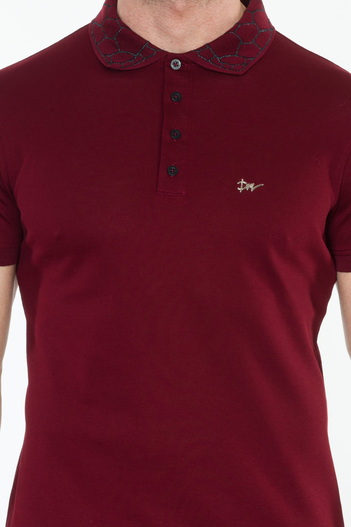 Turtle Collar Embroidery POLO - DIMORAL OFFICIAL
