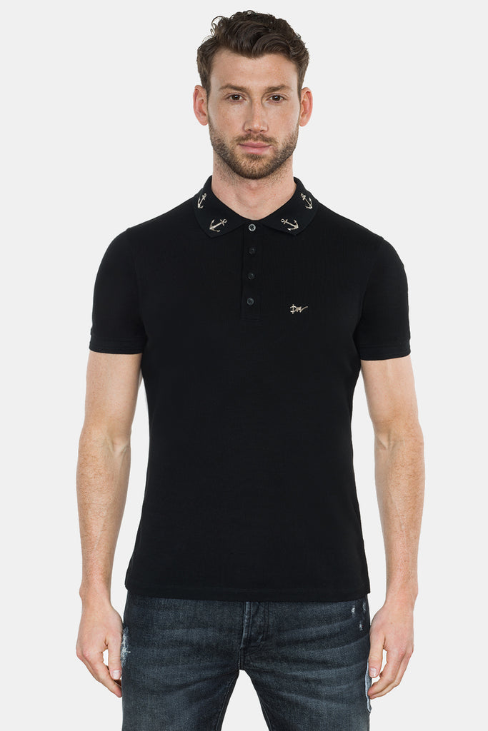 ANCHORS COLLAR POLO