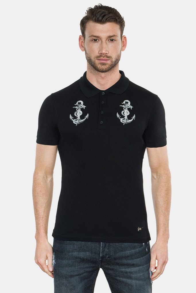 ANCHOR EMBROIDERY POLO