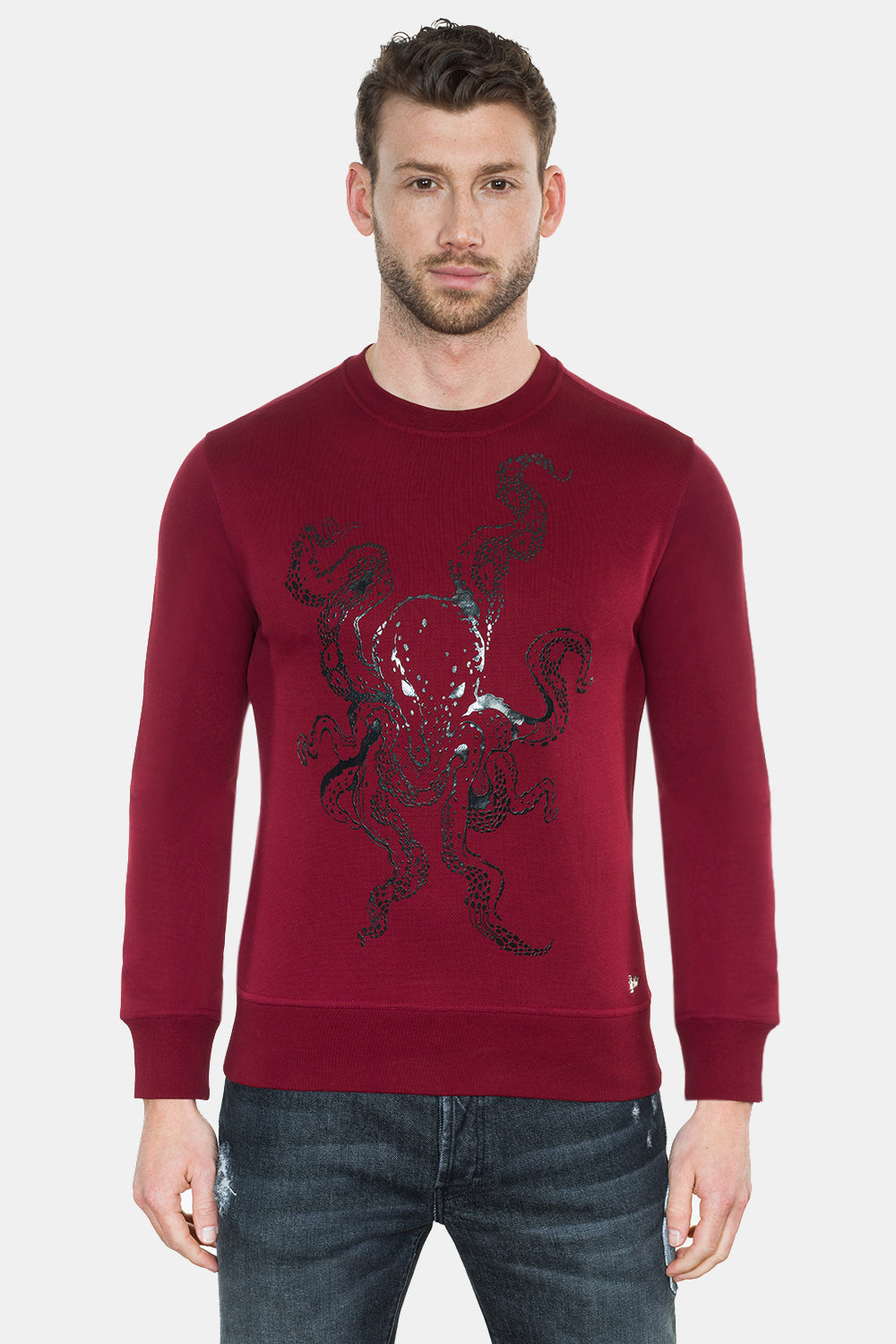 OCTOPUS PRINT SWEATSHIRT - DIMORAL OFFICIAL