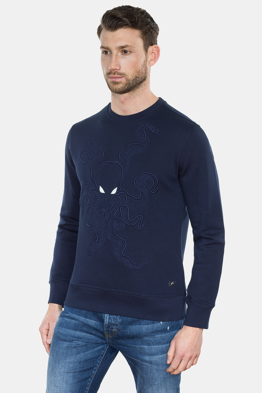 OCTUPUS EMBROIDERY SWEATSHIRT - DIMORAL OFFICIAL
